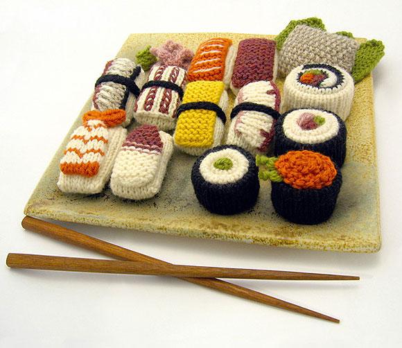 Foto: Sushi trocken