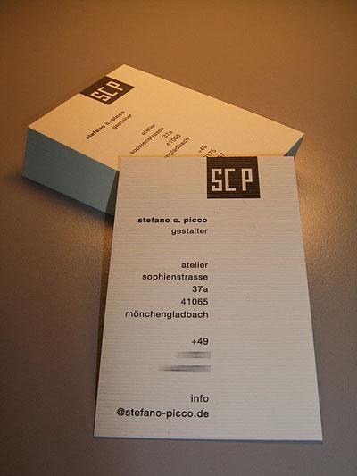 Foto: sCp Visitenkarten logiprint